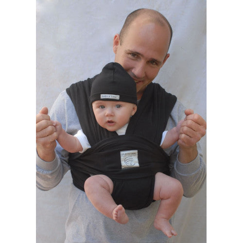 (Open Box) Baby K'tan Baby Carrier - L - Black