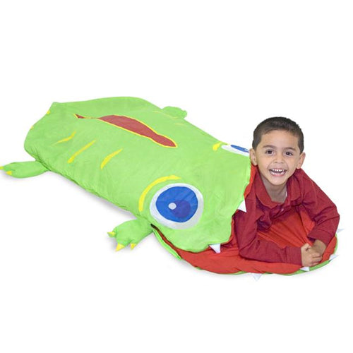 Augie the Alligator Sleeping Bag