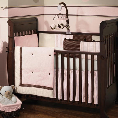 (Scratch & Dent) Madison Avenue Baby 4 Piece Bedding Set