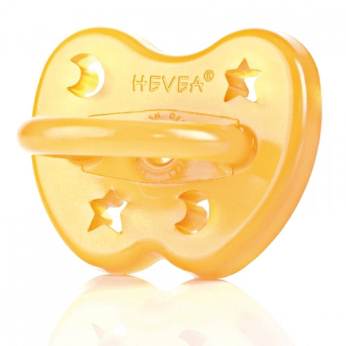 Hevea Natural Rubber Orthodontic Pacifier - 0-3m