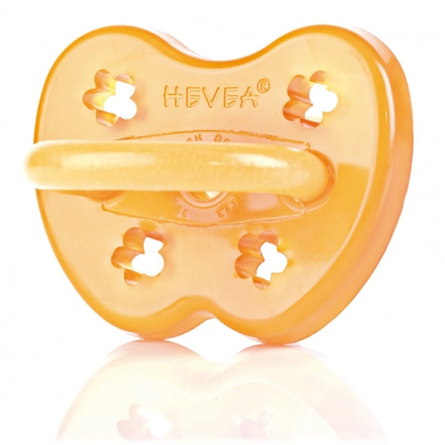 Hevea Natural Rubber Orthodontic Pacifier - 3m+