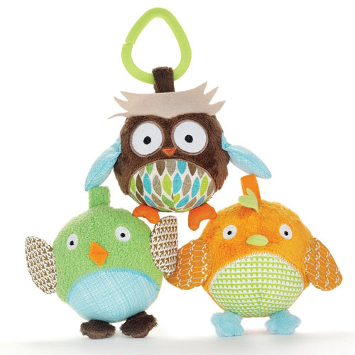 Skip Hop Owl & Friends Ball Trio