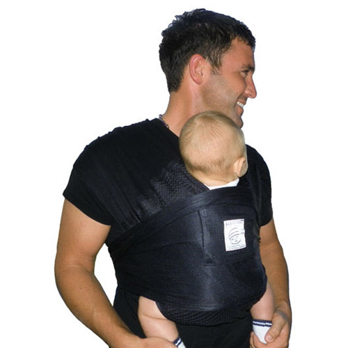 (Scratch & Dent) Baby K'tan Breeze Baby Carrier - S-Black