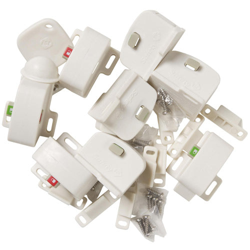 Safety 1st Magnetic Locking System Complete 9 Piece Set