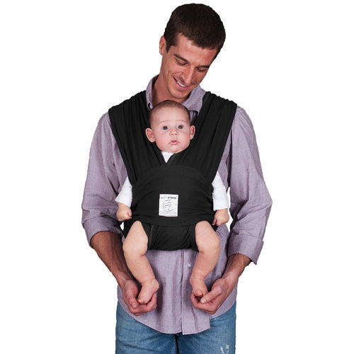 (Open Box) Baby K'tan Baby Carrier - XL - Black