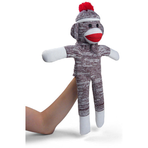 Sock Monkey Hand Puppet