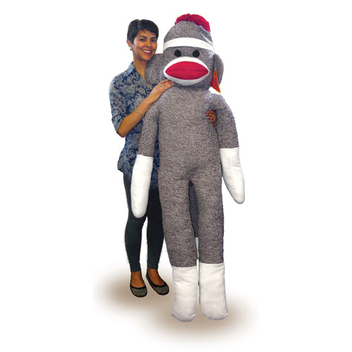 Life Size Sock Monkey