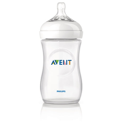 Avent Natural 8oz Glass Bottle 1-Pack