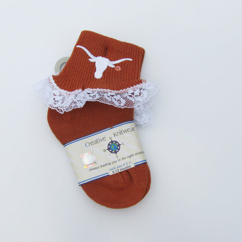 Texas Lace Anklet Socks
