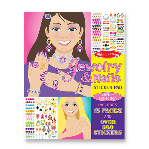 Jewelry & Nails Glitter Collection Stickers