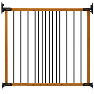 (Open Box) KidCo Designer Angle Mount Safeway Gate - Oak