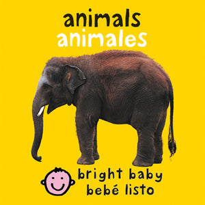 Bilingual Bright Baby Animals by Roger Priddy