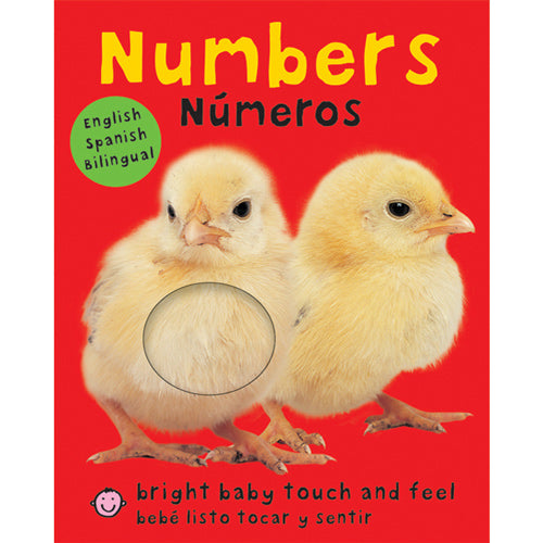 Bilingual Bright Baby Touch & Feel: Numbers by Roger Priddy