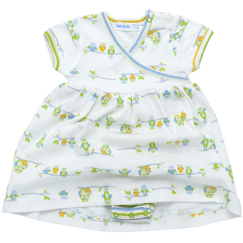 Little Owl - Zen Dress with Bloomer-Print
