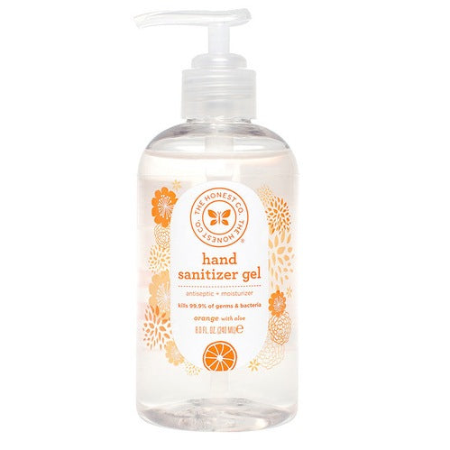 Honest Hand Sanitizer - Orange with Aloe 8oz