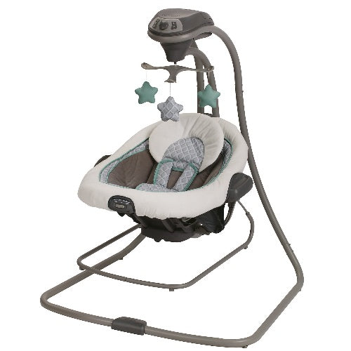 Graco Duet Connect LX Swing Plus Bouncer Manor