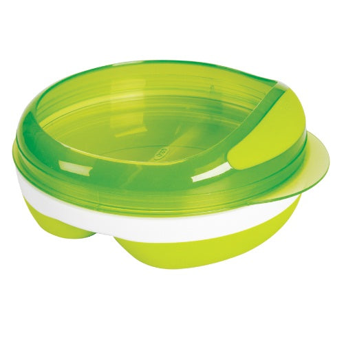 OXO Tot Divided Feeding Dish With Removable Ring