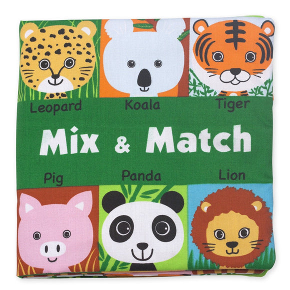Melissa & Doug Soft Activity Book Mix & Match