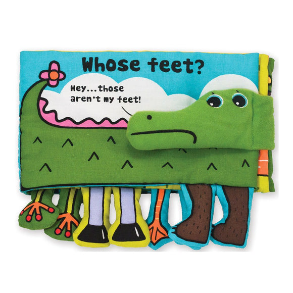 Melissa & Doug Soft Activity Book Whose Feet?