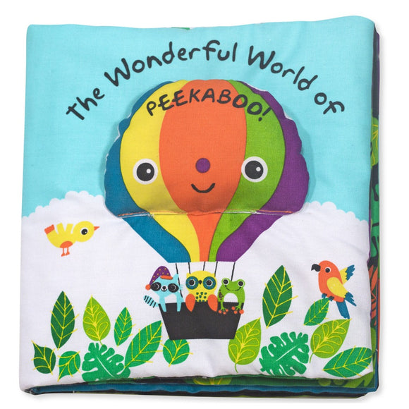 Melissa & Doug Soft Activity Book Fantastic World of Peekaboo