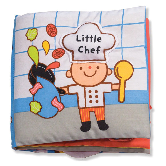 Melissa & Doug Soft Activity Book Little Chef