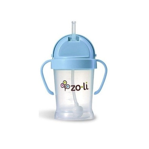 (Scratch & Dent) BOT Straw Sippy Cup 6 Ounce - Blue