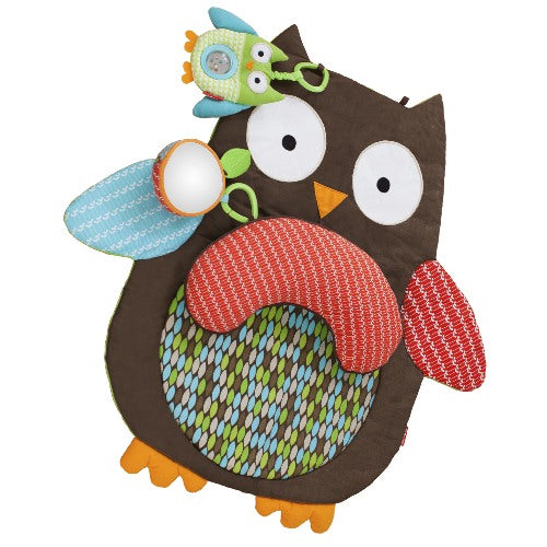 Treetop Friends Tummy Time Mat Owl
