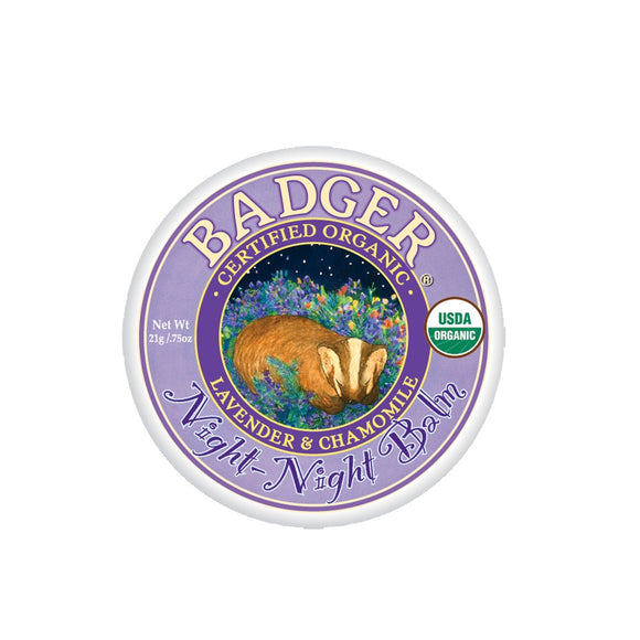 Badger Night Night Balm - 0.75 Oz Tin