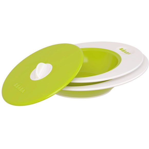 Beaba Ellipse Multi-Stage Bowl Set & Steaming Lid