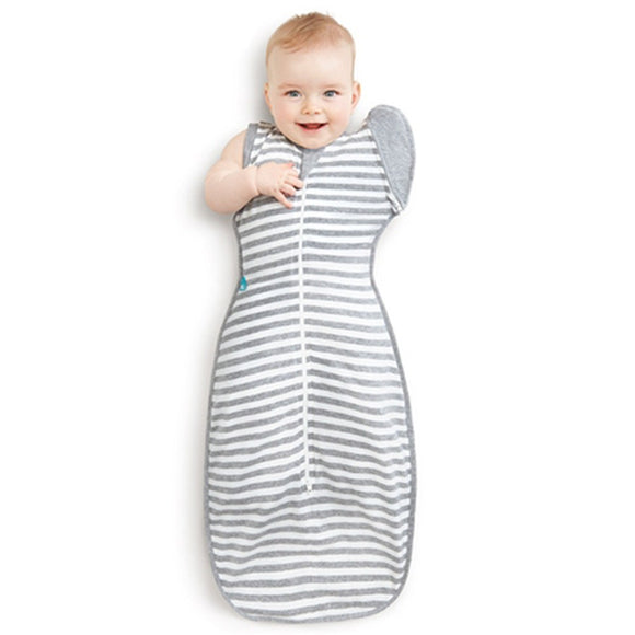 Love to Swaddle Up 50/50 Gray