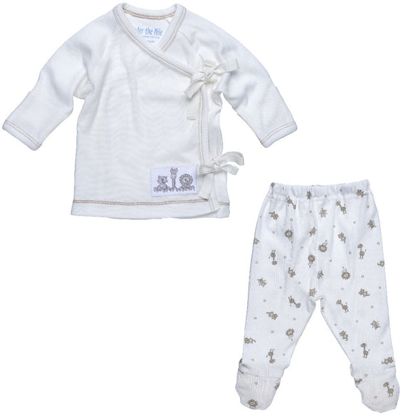 Side Tie Layette Set