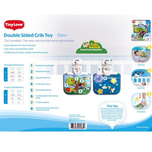 Double Sided Crib Toy