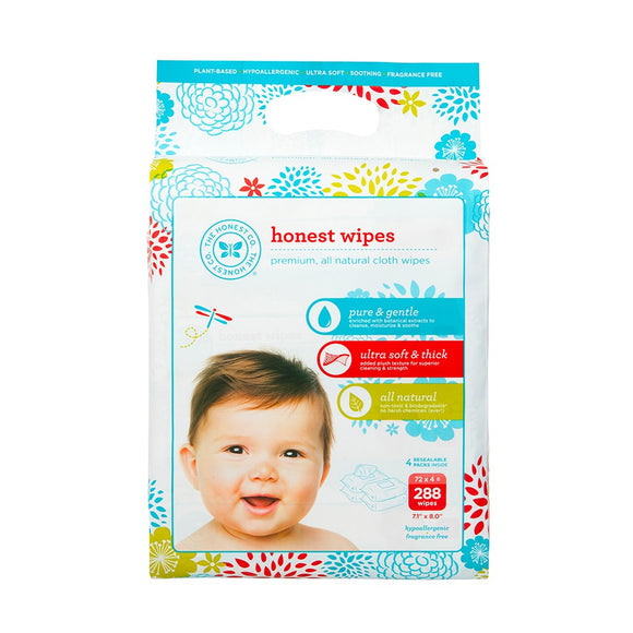 Honest Wipes - 288 counts