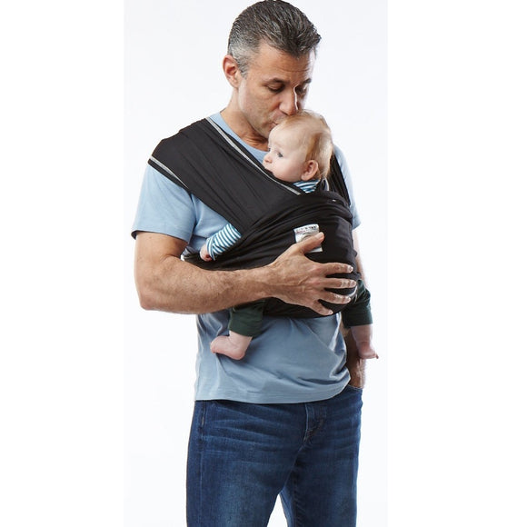 (Scratch & Dent) Baby K'tan Active Baby Carrier Black - X Large