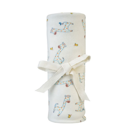 Under The Nile Swaddle Blanket - Giraffe Print