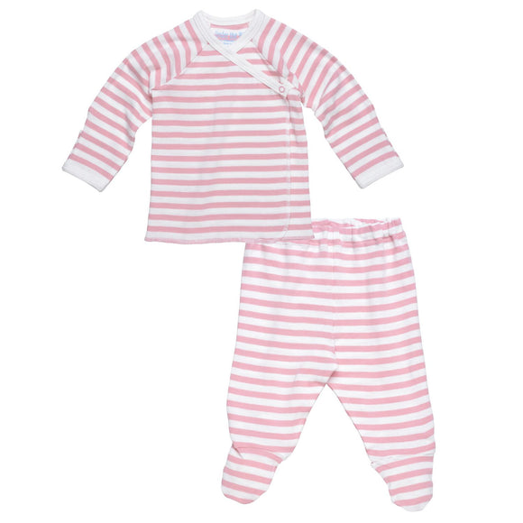 Pastel Side Snap Layette Set