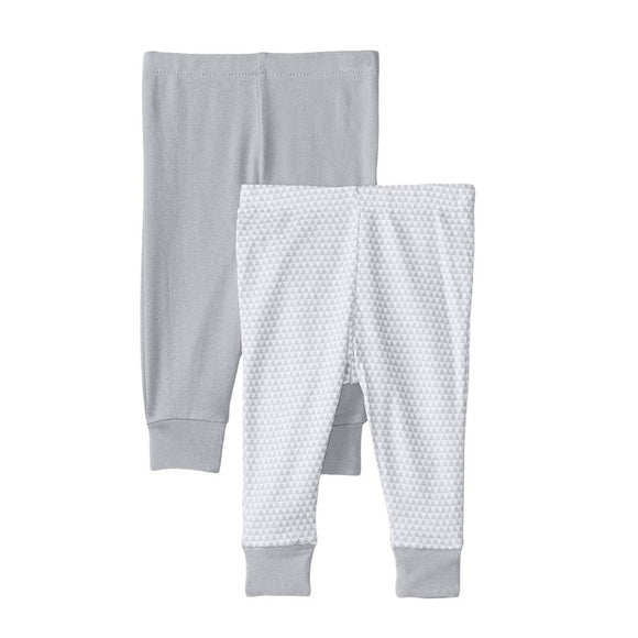Skip Hop Petite Triangles 2 Piece Pants - Grey