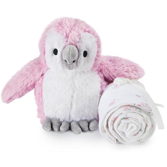 Aden + Anais Plush Toy with Swaddle
