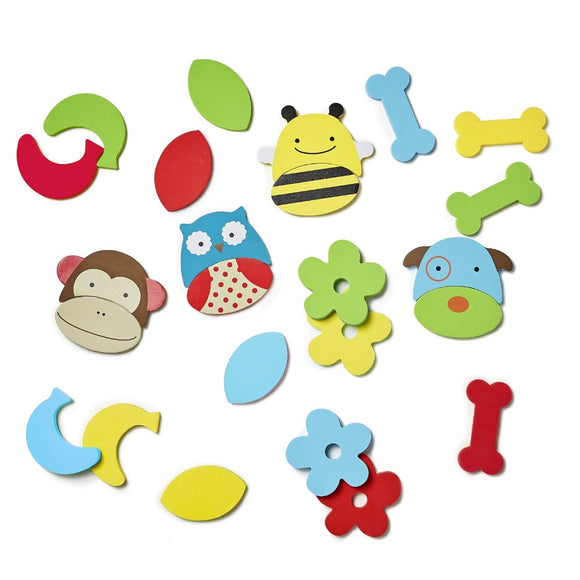 Skip Hop Zoo Bath Mix and Match Faces