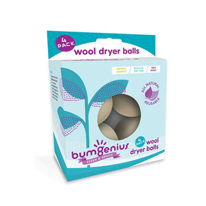 bumGenius Wool Dryer Balls 4 Pack