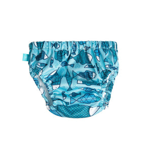 Honest Swim Diapers - Fish