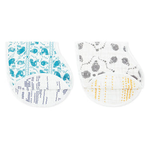 Muslin Burpy Bibs 2 pack - Kindred