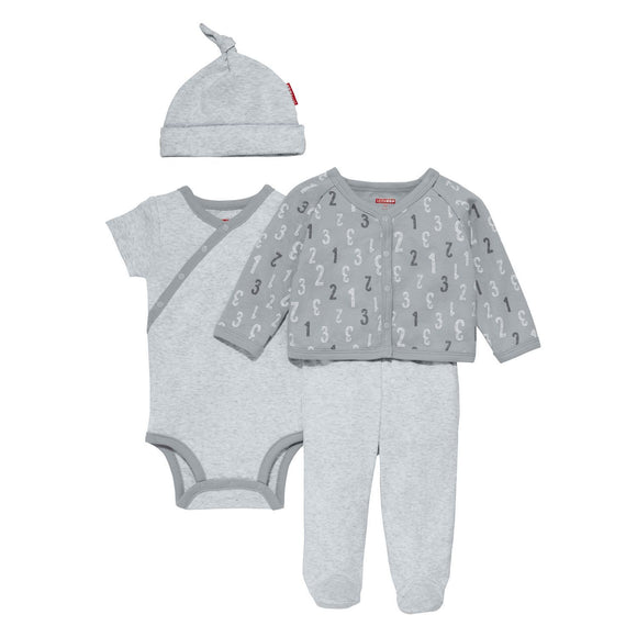 ABC-123 Welcome Home Set 4pc - Grey