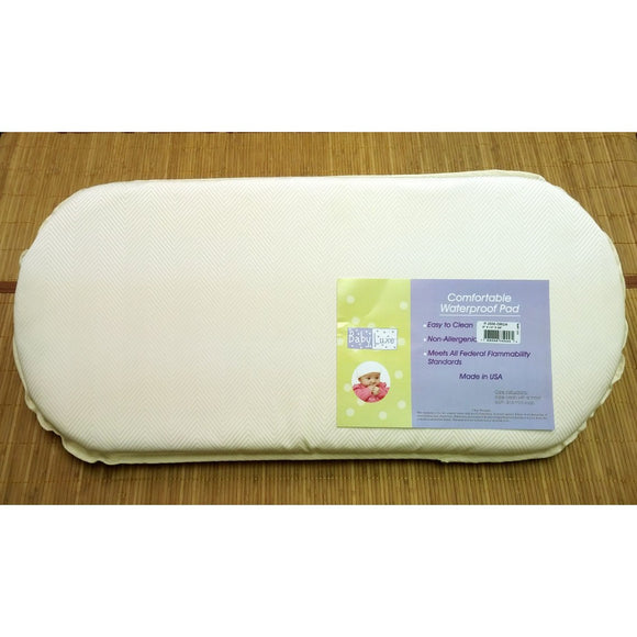 Babyluxe Organic Layer Bassinet Pad 2