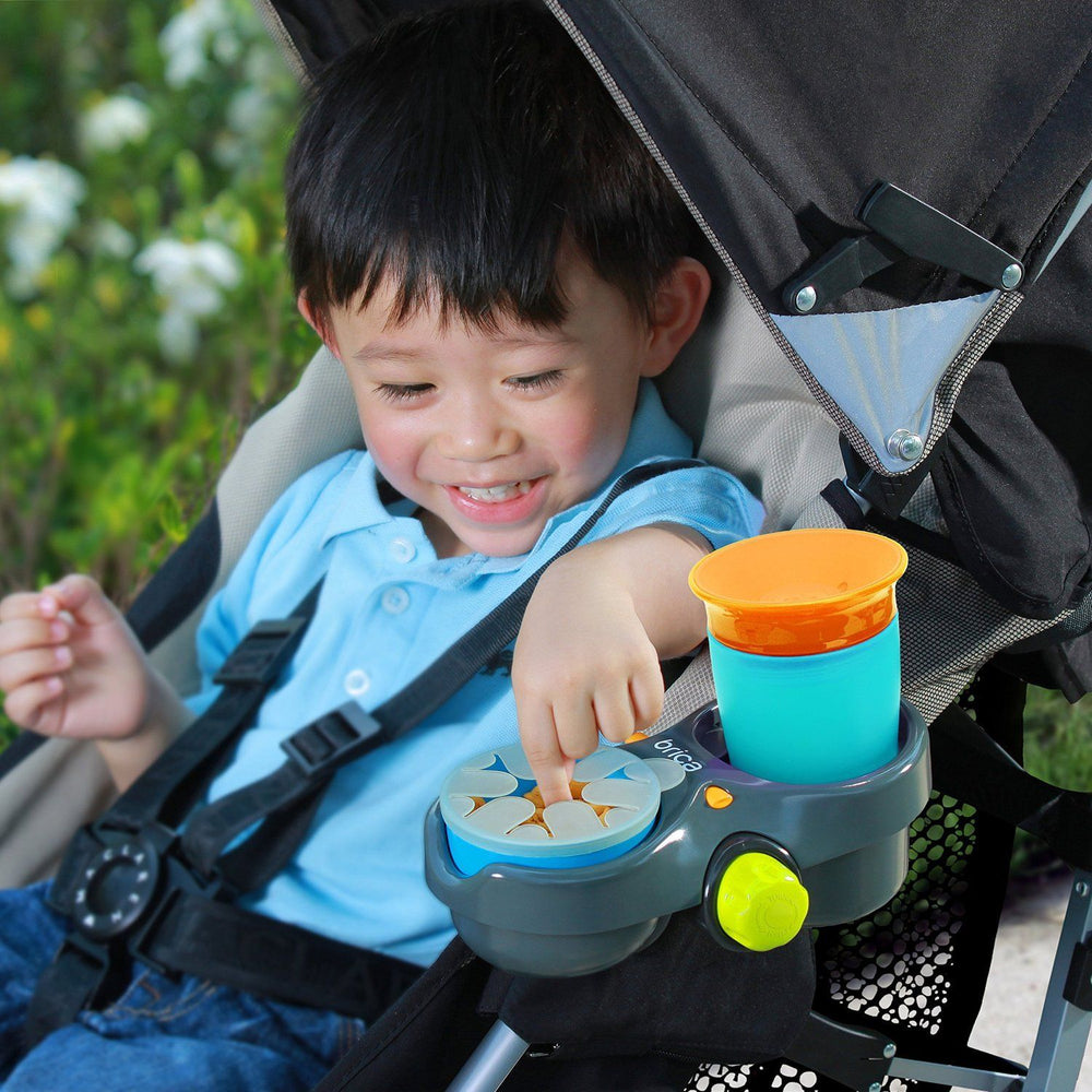 BRICA Deluxe Snack Pod Stroller Drink and Snack Holder
