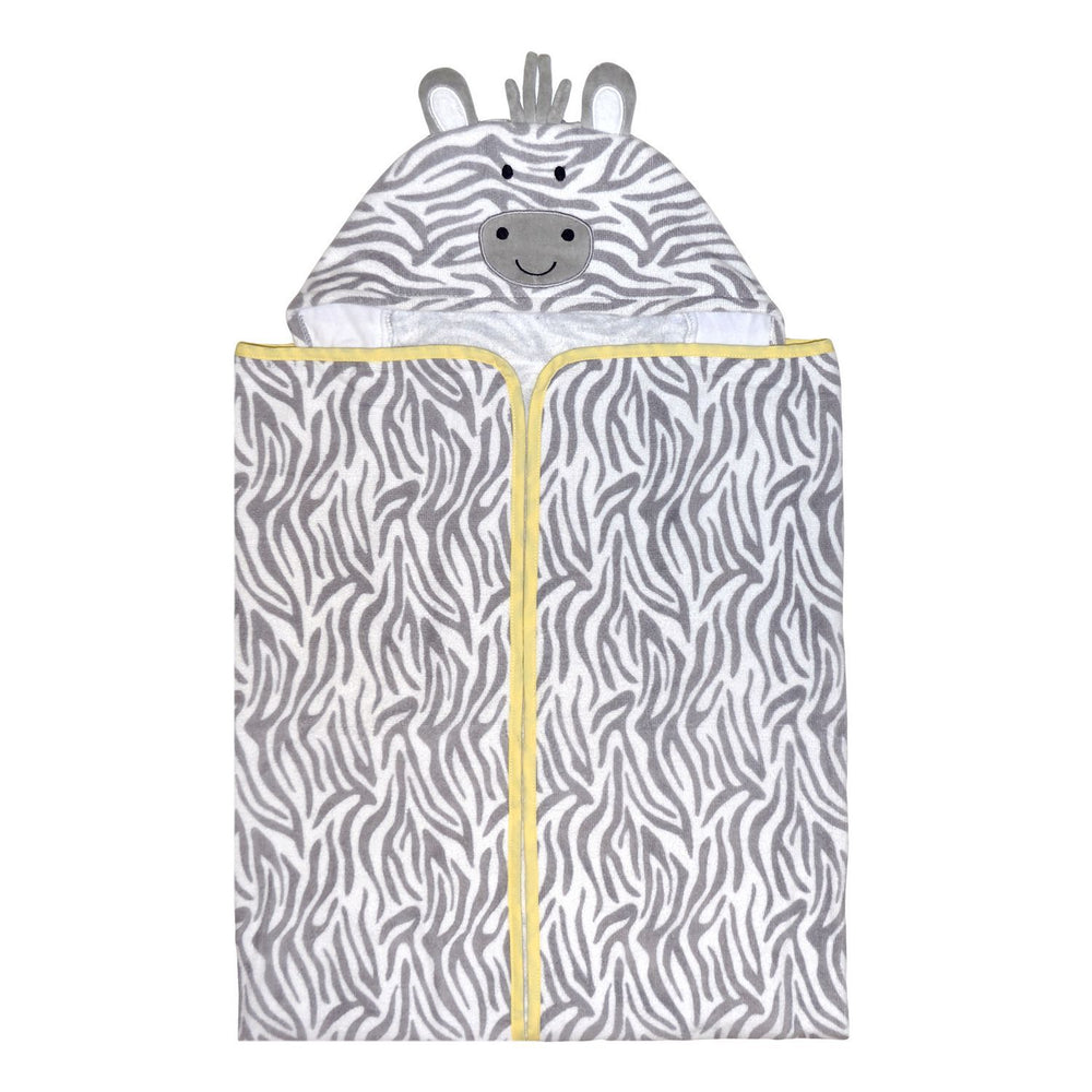 Just Born Hooded Bath Wrap - Welcome to the Circus