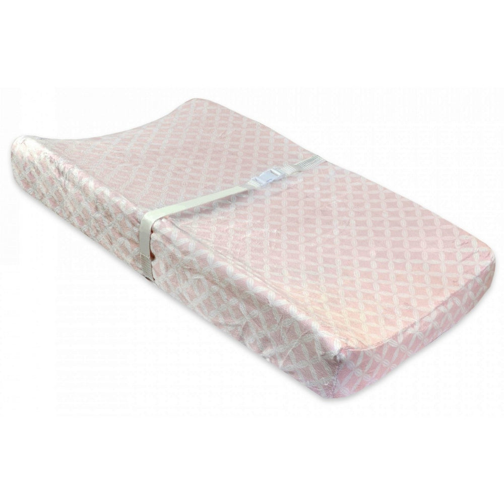 Just Born Valboa Changing Pad Cover - Hampton Pink