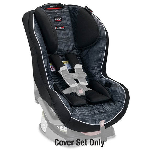 (Scratch & Dent) Britax Boulevard Car Seat Cover Set - Domino