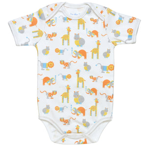 Under the Nile Lap Shoulder Babybody- Safari Print
