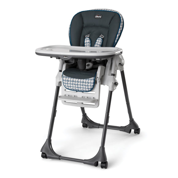 Chicco Polly Vinyl Highchair - Iceland